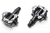 Педали контактные Shimano PD-M520, черные, без шипов