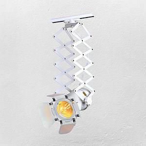 Прожектор на треке в стиле лофт ( модель 52-13 WH   )