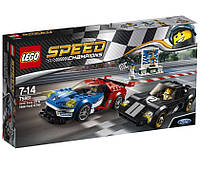Lego Speed Champions Форд GT 2016 и Форд GT40 1966 75881