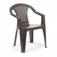 Пластиковое кресло Atlanta коричневое