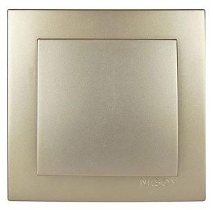 NILSON TOURAN Металлик Выключатель золото