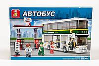 Конструктор Sluban Автобус: Двухэтажный автобус, 403 деталей арт. M38-B0331