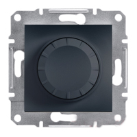 Светорегулятор 600 Вт Asfora антрацит, EPH6400171