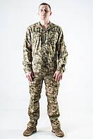 Армейкая рубашка с длинным рукавом пиксель