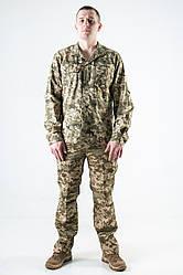 Рубашка ЗСУ военная с длинным рукавом Украинский пиксель
