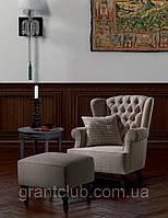 Классическое кресло в английском стиле с ушками BEATRICE фабрика Asnaghi Salotti (Италия)