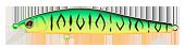 Воблер Strike Pro JUMPER 70SP(GC01s)5.2g