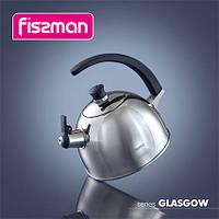 5922 Чайник для кип'ячення води GLASGOW 2,5 л (нерж. сталь)