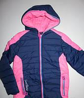 Куртки на флисе для девочек р-ры 134, 140, 146,  152,  Венгрия, GRACE G60567 134