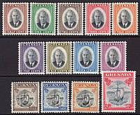 Гренада Grenada филателия 1951 год - полная серия