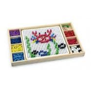 """Игрушка Viga Toys 2-в-1 """"Мозаика & Лудо"""" 59990VG"""