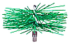 Щётка (ёрш) пластиковая для чистки дымохода 125 мм