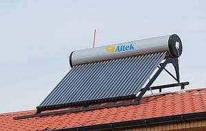 SD-T2-30 Колектор (водонагрівач) сонячний 300л Altek сезонний з баком безнапірна система