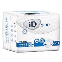 Памперсы для взрослых ID Slip PLUS XL, 14 шт , ID (Чехия)