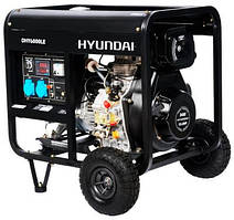 Дизельный генератор HYUNDAI Diesel DHY 6000LE