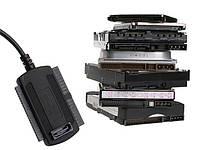 "Контроллер USB 2.0 to SATA/IDE cable for 2.5"", 3.5"""