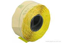 Этикетки-ценники Economix 22х12 мм желтые 1000 шт./рул., E22301-05