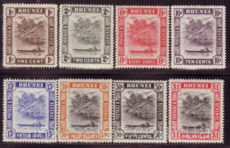 Бруней британская колония MLH, XF1947 - 1951