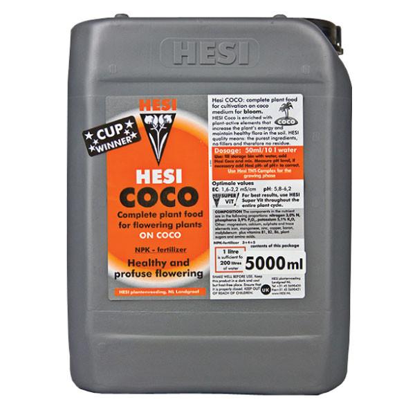Минеральное удобрение для гидропоники HESI Coco 5L