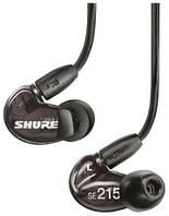 Наушники гарнитура Shure SE215 /черные, фото 1