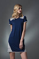 Домашнее платье, сорочка женская LND 083/001 (ELLEN). Вискоза.