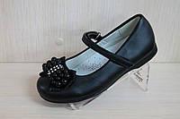 Детские черные туфли на девочку тм Tom.m р. 25