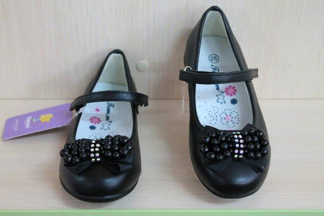 Детские черные туфли на девочку тм Tom.m р. 25, фото 2