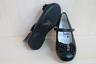 Детские черные туфли на девочку тм Tom.m р. 25, фото 3