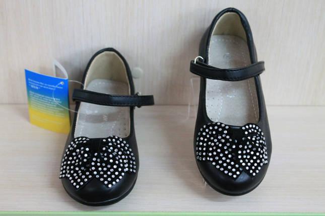 Детские черные туфли на девочку тм MXM р. 25, фото 2