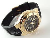 Часы женские Alberto Kavalli  Lux - золотой корпус, черный циферблат
