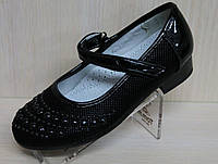 Черные туфли для девочек тм Tom.m р. 25,26,27