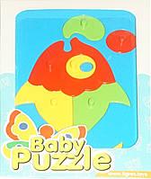 Развивающая игрушка Рыбка с пузырями Baby puzzles, Wader