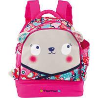 Рюкзак школьный  с отделением ланчбокса для девочки TUC TUC KIMONO