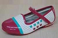 Детские туфли на девочку лаковый носок тм Tom.m р.26