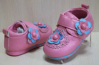 Розовые закрытые туфли на девочку тм Tom.m р.21,23, фото 2