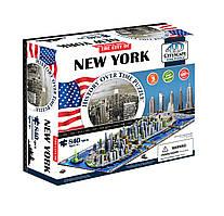 Объемный пазл 4D Cityscape - Нью Йорк