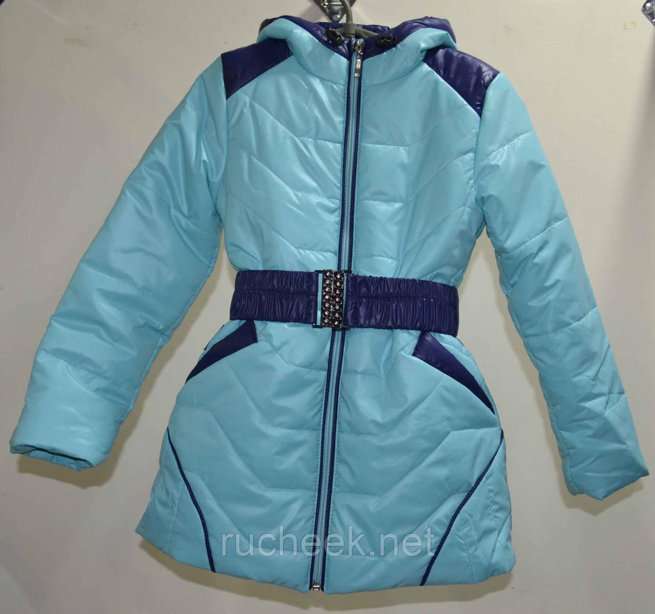 Пальто детское куртка удлиненная р-ры 98, 104, 110, 116, ТМ Одягайко 1