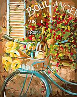 "Картина по номерам без упаковки ""Цветы из Франции"", 40х50см (КНО2045)"