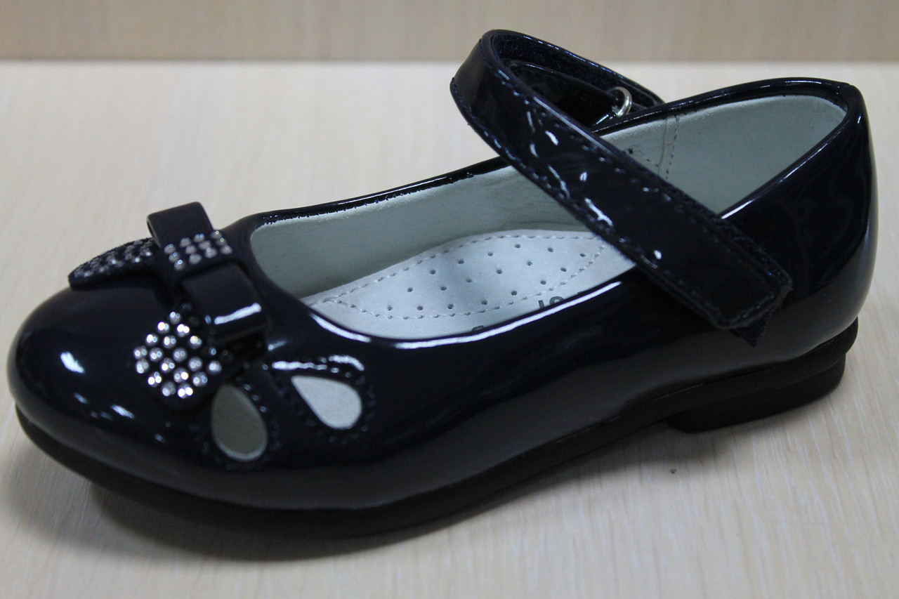 e64f8d06d Cиние лакированные туфли на девочку тм Том.м р. 26 - BonKids - детский