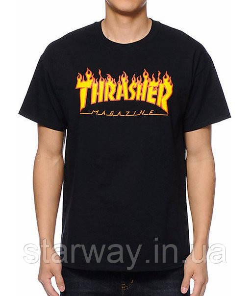 Футболка стильная | Thrasher magazine logo |