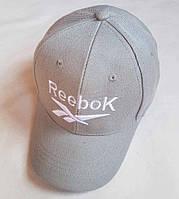 """Кепка подростковая  """"Reebok"""". Размер  54-55 см. Серый. Оптом."""