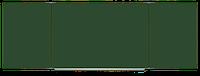 Доска для школы магнитная в полимерном профиле 4000х1000 мм