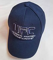 """Кепка подростковая  """"UFC"""". Размер  54-55 см.  Темно-синий. Оптом."""