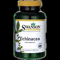 Эхинацея экстракт укрепление иммунитета в капсулах Echinacea Swanson 400 мг 180 капсул