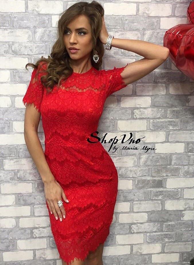f74cccf0022 Роскошное вечернее платье (кружево ресничка