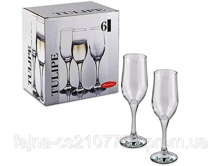 Бокал Туліп шампанське 190мл техтара 44160