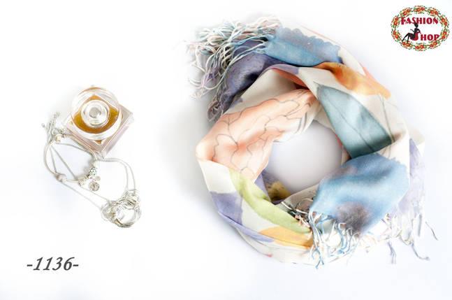 Лёгкий шарф Весеннее настроение, фото 2