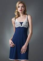 Домашнее платье, сорочка женская LND 084/001 (ELLEN). Вискоза.
