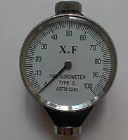 Дюрометр ( твердомер ) Шора D с одной стрелкой ASTM 2240-D, шкала 0-100 НD, фото 1