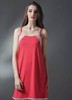 Домашнее платье, сорочка женская LND 085/002 (ELLEN). Вискоза.